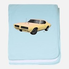 1968 GTO Mayfair Maize baby blanket