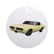 1968 GTO Mayfair Maize Ornament (Round)