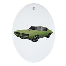 1968 GTO Springmist Green Ornament (Oval)