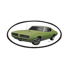 1968 GTO Springmist Green Patches