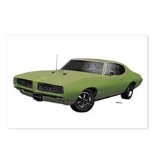 1968 GTO Springmist Green Postcards (Package of 8)