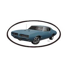 1968 GTO Aleutian Blue Patches