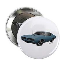 "1968 GTO Aleutian Blue 2.25"" Button (10 pack)"
