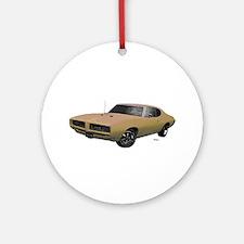 1968 GTO Primavera Beige Ornament (Round)