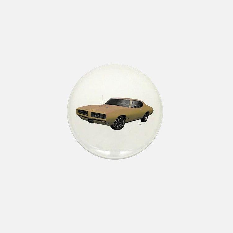 1968 GTO Primavera Beige Mini Button