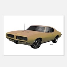 1968 GTO Primavera Beige Postcards (Package of 8)