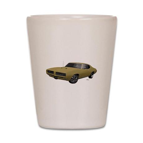 1968 GTO April Gold Shot Glass
