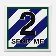 3ID - 2nd Brigade Tile Coaster