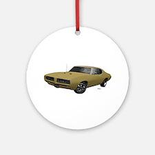 1968 GTO April Gold Ornament (Round)