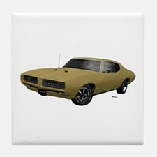 1968 GTO April Gold Tile Coaster
