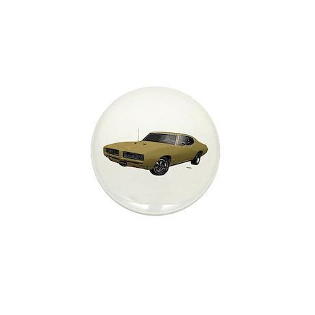 1968 GTO April Gold Mini Button (10 pack)