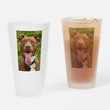 Pit Bull 13 Drinking Glass