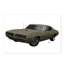 1968 GTO Nightshade Green Postcards (Package of 8)