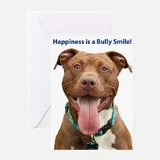 Pit Bull 14 Greeting Card