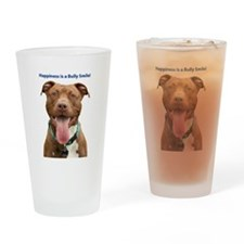 Pit Bull 14 Drinking Glass