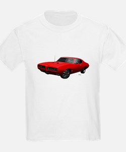 1968 GTO Solar Red T-Shirt