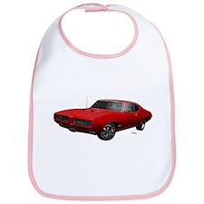 1968 GTO Solar Red Bib