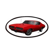 1968 GTO Solar Red Patches