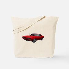 1968 GTO Solar Red Tote Bag