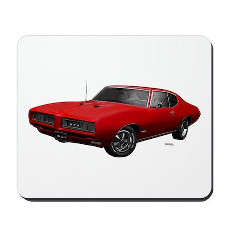 1968 GTO Solar Red Mousepad