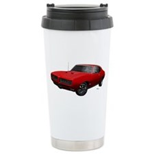 1968 GTO Solar Red Travel Mug