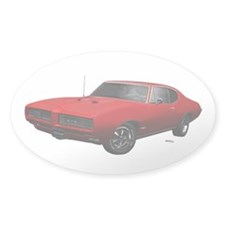 1968 GTO Solar Red Decal