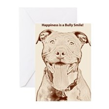 Pit Bull 15 Greeting Cards (Pk of 10)