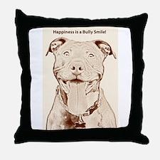 Pit Bull 15 Throw Pillow