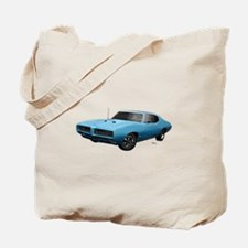 1968 GTO Meridian Turquoise Tote Bag
