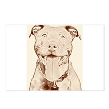 Pit Bull 16 Postcards (Package of 8)