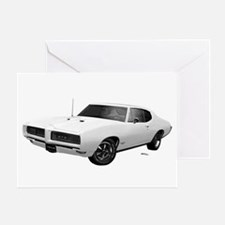 1968 GTO Cameo Ivory Greeting Card