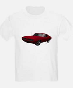 1968 GTO Flambeau Burgundy T-Shirt