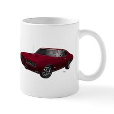 1968 GTO Flambeau Burgundy Small Mug