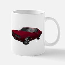 1968 GTO Flambeau Burgundy Small Small Mug