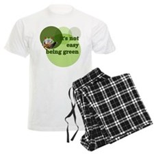 It's Not Easy Being Green Pajamas