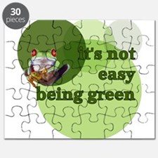 It's Not Easy Being Green Puzzle