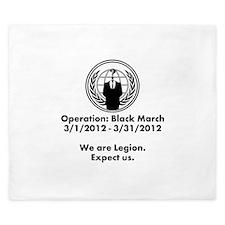 Operation Black March King Duvet