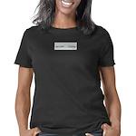 T JAX Women's Plus Size Scoop Neck Dark T-Shirt