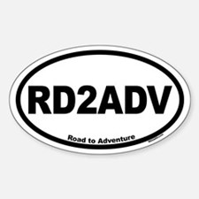 RD2ADV Sticker (Oval)