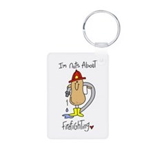 Nuts About Firefighting Keychains