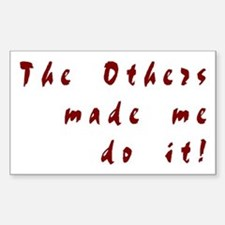 The Others - Sticker (Rectangular)