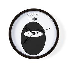 Code Ninja B Wall Clock