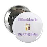 Chemist nerd Buttons