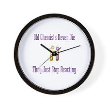 Old Chemists Wall Clock