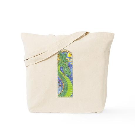 Dragon Bookmark Tote Bag