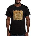 Vitruvian MUSCLEHEDZ - Men's Fitted T-Shirt (dark)