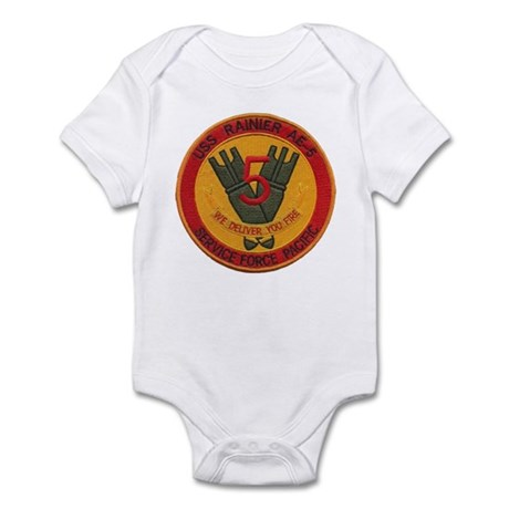 USS RAINIER Infant Bodysuit