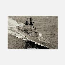 USS STERETT Rectangle Magnet