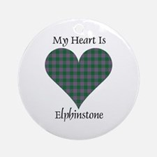 Heart - Elphinstone Ornament (Round)