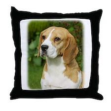 Beagle 9K34D-17 Throw Pillow